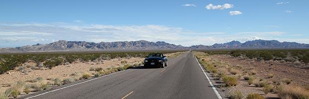 Hyrbilsutflykt med Mustang från Las Vegas